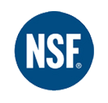 Pure Tech systems are proudly made with NSF certified components